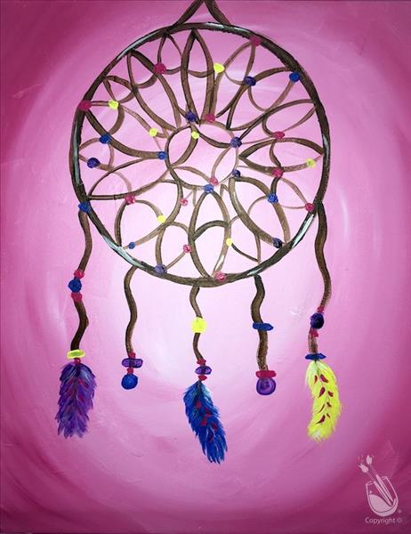 How to Paint Kids Dream Catcher