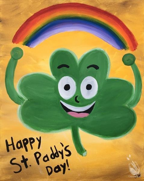Happy St. Patrick's Day-Shamrock Dude