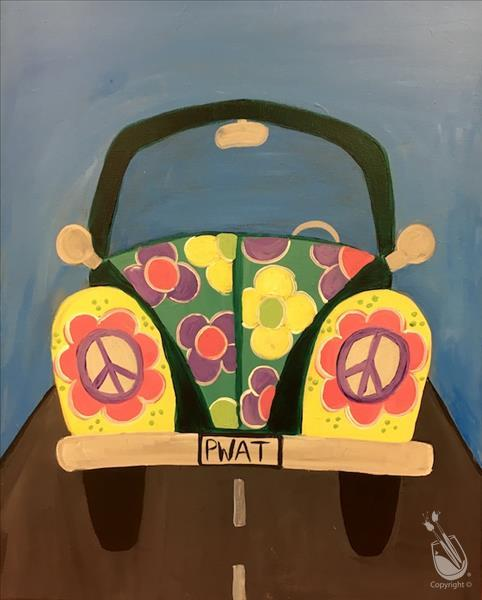 Hippie Car- Design your own!