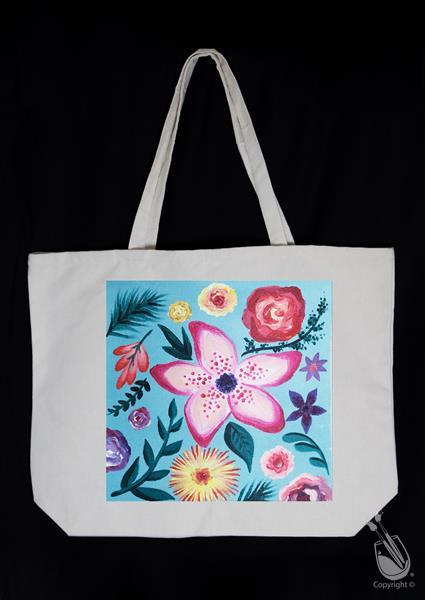 Tropical Flower Power Tote