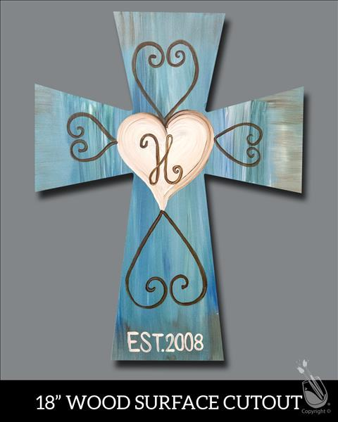 Rustic Cross Cutout