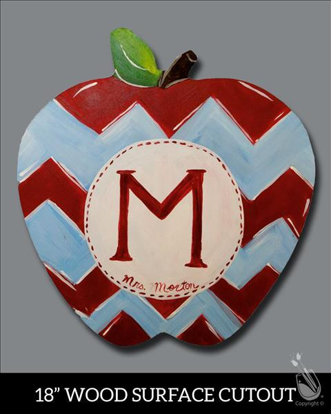 $5 OFF Teacher's Apple Cut Out