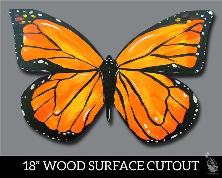Monarch Butterfly Cutout **PUBLIC**