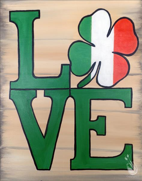 Irish Love  **DOUBLE PAINT POINTS**