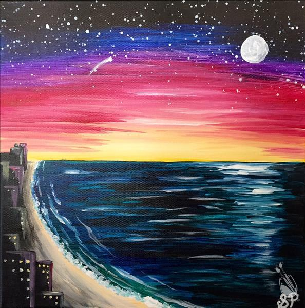 Beachside Galaxy (Ages 15+)