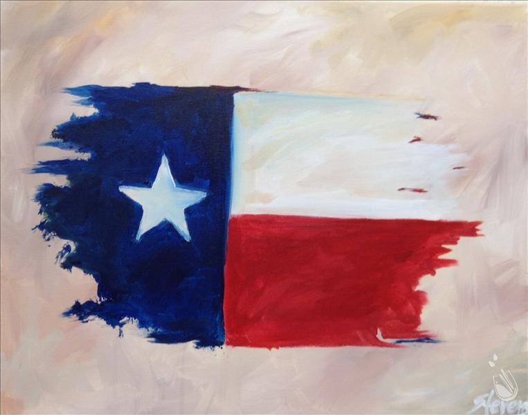 Retro Texas Flag..Limited Seating